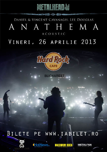 Anathema in Hard Rock-Cafe