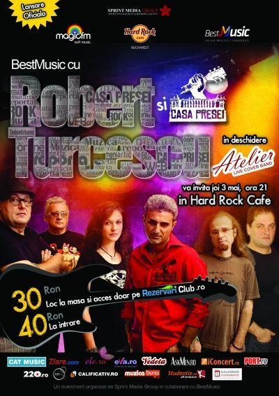 BestMusic cu Robert Turcescu și Casa Presei @ Hard Rock Cafe