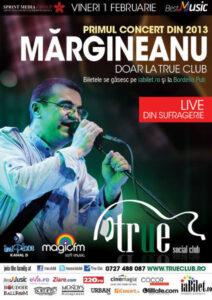 BestMusic - Mărgineanu @ True Club - Primul concert din 2013 - LIVE din sufragerie - Organizator: Sprint Media